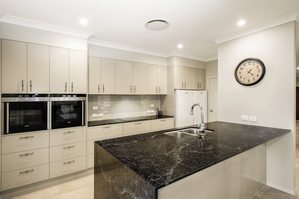 Contemporary Modern Kitchen Design Brisbane With Vanilla