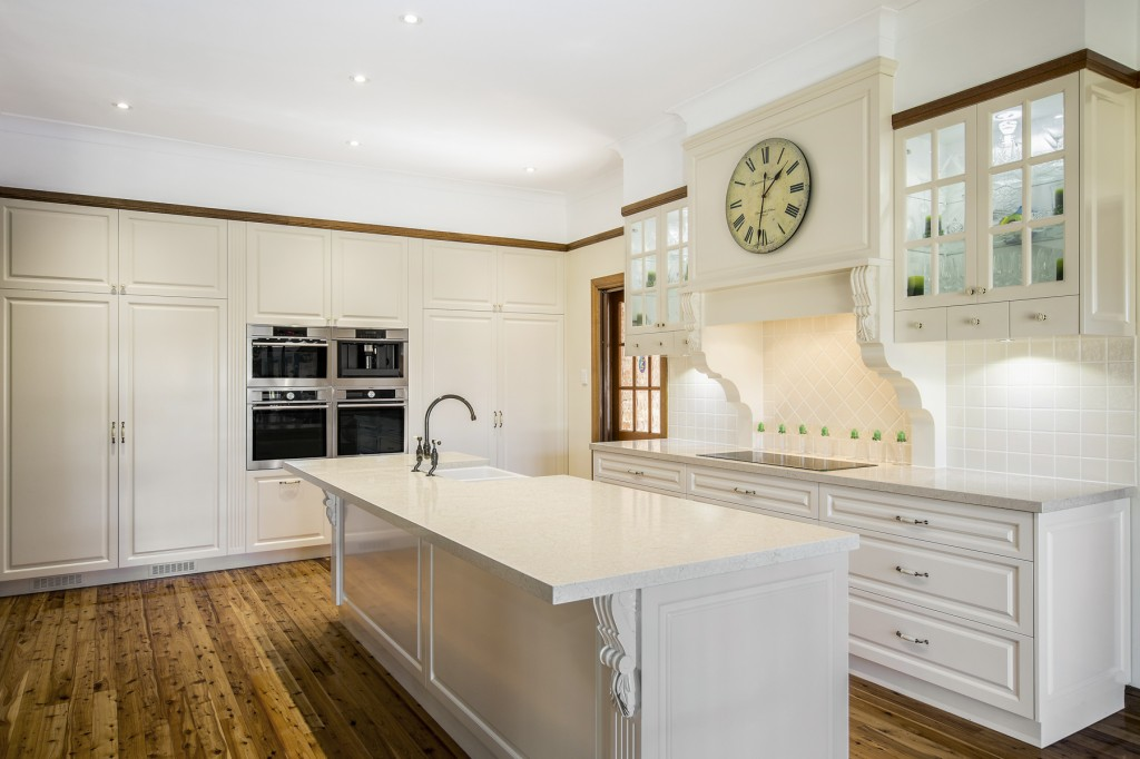 Traditional Country Kitchen Design Brisbane With Dreamy
